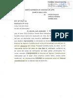 Aceptan Recurso de Agravio Constitucional - Voto Electronico