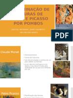 Discriminação de Pinturas de Monet e Picasso Por Pombos