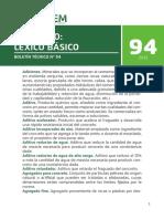 Concreto-Léxico básico ASOCEM