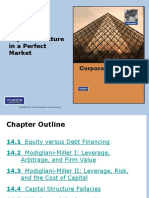 Capital Structure in Perfect Markets - Finance BERK