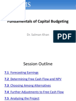 Capital Budgeting - Finance BERK