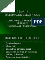 Tema 11 m. Electricos