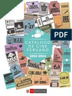 Catalogo Cine Peruano