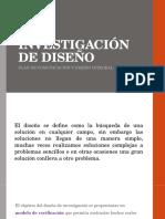 Investigación de Diseño y Estrategia de Diseño
