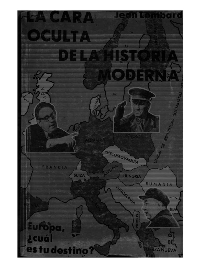 Lombard Jean - La Cara Oculta de La Historia Moderna Tomo 4 ca1cdf73f7f