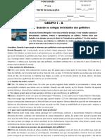 4º Teste - Entrevista, Publicidade e Notícia