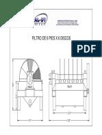 Dimensiones de Filtro 6 x 6