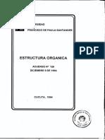 1994 8 Estructura Organica 2