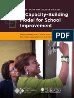 A Capacity Building Model