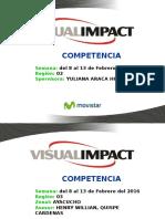 Informe de Competencia r 3 , Del 8 Al 13 de Febrero Del 2016