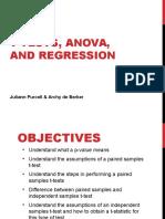 Regression ANOVA Compiled