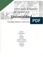 Guía Ingreso a la Universidad Completa