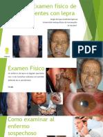 Examen Físico de Pacientes Con Lepra