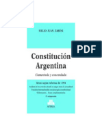 Constitucion Argentina Comentada y Concordada. Zarini