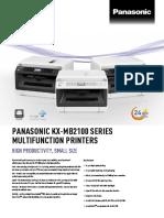Kx-mb21 Series Spec Sheet-V8- En