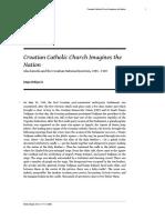 Croatian Catholic Church Imagines the Nation