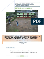 Estudio Topografico Miraflores