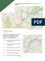 279 Rue de Créqui, 69007 Lyon, France to CERN Bldg 32 - Google Maps