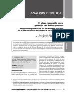 El Plazo Razonable Como Garantía Del Debido Proceso, Análisis Comparativo de Los Estándares Actuales en El SIDH y en El TC - Ricardo Bolaños y Rosemary Ugaz