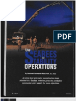 # Africom Use Seabees for Stability operations