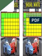 Jadual Waktu Cars