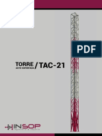Catalogo Torres Autosoportadas INSOP Telecomunicaciones S.A.C. - Perú