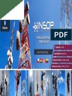 INSOP TELECOMUNICACIONES S.A.C. - Torres Autosoportada-  Peru Ecuador Chile Bolivia