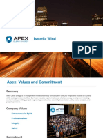 Apex Clean Energy - Isabella Wind presentation