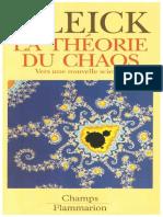 La Theorie Du Chaos_ James Gleick