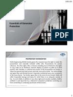 Essentials of Generator Protection