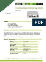 I0ATPI04_FE Passive PoE Injector_EN_V1 0