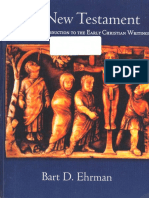 The New Testament - A Historical Introduction to the Early Christian Writings
