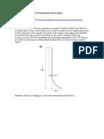 Ejemplo de Calculo de Perforación Direccional