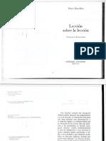 Bourdieu, Pierre - Lección sobre la Lección.pdf