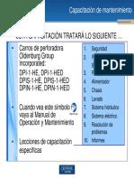 Capacitación de Mantenimiento DPI(S)(N)-1-HE(D)