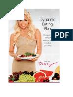Tracy Anderson's Dynamic Eating Plan Metamorphosis