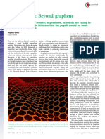 News Feature- Beyond Graphene PNAS-2015