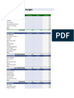 copy of personal budget