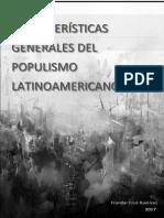 El populismo latinoamericano