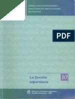 Curso Para Supervisores y Directores de Instituciones Educativas-la Función Supervisora 10