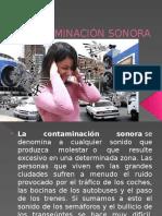 Contaminacion Sonora- Semana 7