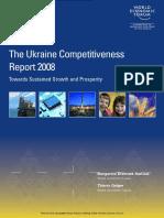 The Ukraine Competitiveness Report 2008