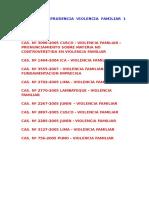 01 - Jurisprudencia Violencia Familiar 1