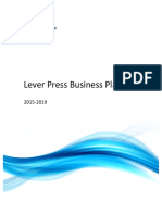 Lever Press Business Plan Final Feb15
