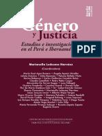 Libro Genero y Justicia (Sepur Zarco) Karina Bidaseca