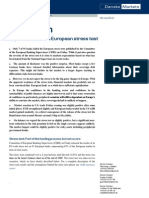 JUL 26 Danske Research Stress Test