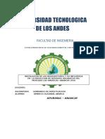 Americo Utea Perfil Del Proyecto de Investigación 2015 Copia 2 1