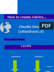 04-How to Create Rubrics