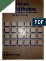 THOMAZ - Trincas e Edifícios- Causas, prevenção e Recuperação Eng. Ercio Thomaz