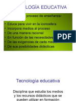 TECNOLOGIA EDUCATIVA.ppt